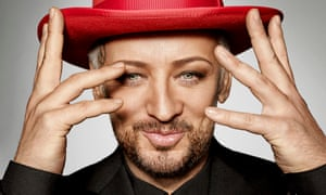 Boy George: 'You're looking for answers and I think as you get older, you realise there aren't really answers.'