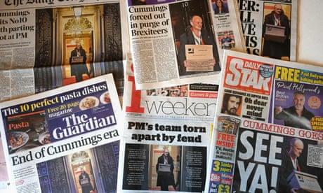 Dominic Cummings' media approach often more bark than bite