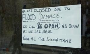 A shop in Lancaster city centre.