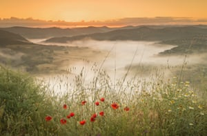 Czech ConroySunrise on over Portugal's Alentejo region. There is a river in the main valley that forms the border with Spain, to the left in the photo. The mist created a mystical atmosphere.