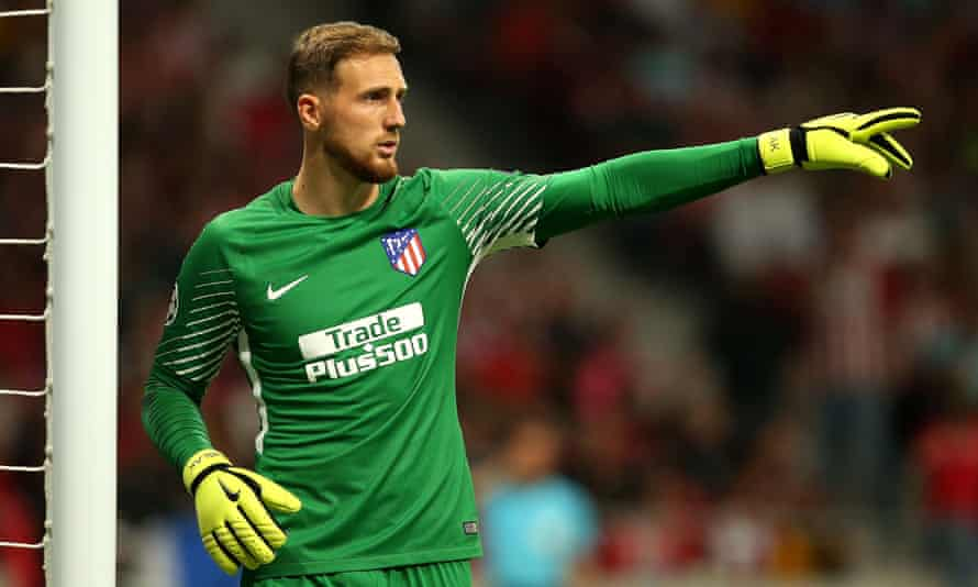 Slovenia's Jan Oblak became the most expensive goalkeeper in the Spanish league when he was signed by Atlético Madrid.