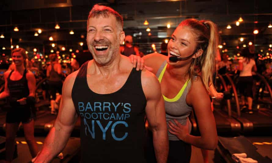 Jiggy with it: founder Barry Jay with model Nina Agdal