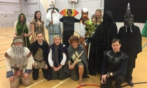 The Science Department as The Lord of the Rings.From Camborne Science & International Academy