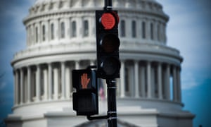 Trump has promised 'a long shutdown' of the US government.