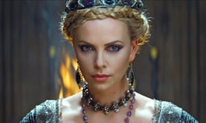 Royal performance ... Charlize Theron in The Huntsman: Winter's War