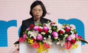 Tsai Ing-wen will visit Houston on 7 January and San Francisco on 13 January.