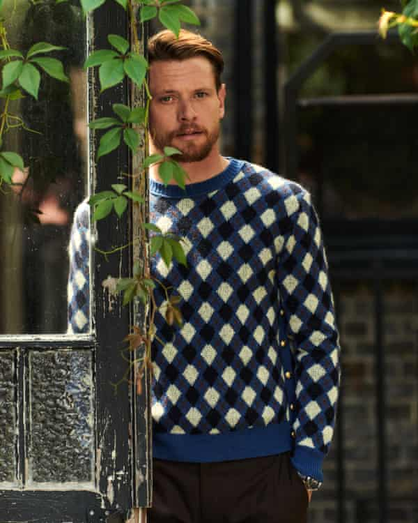 'I grew up in macho environments': Jack wears jumper by Wales Bonner, trousers by Sefr both at matchesfashion.com), watch by jaeger-lecoultre.com.