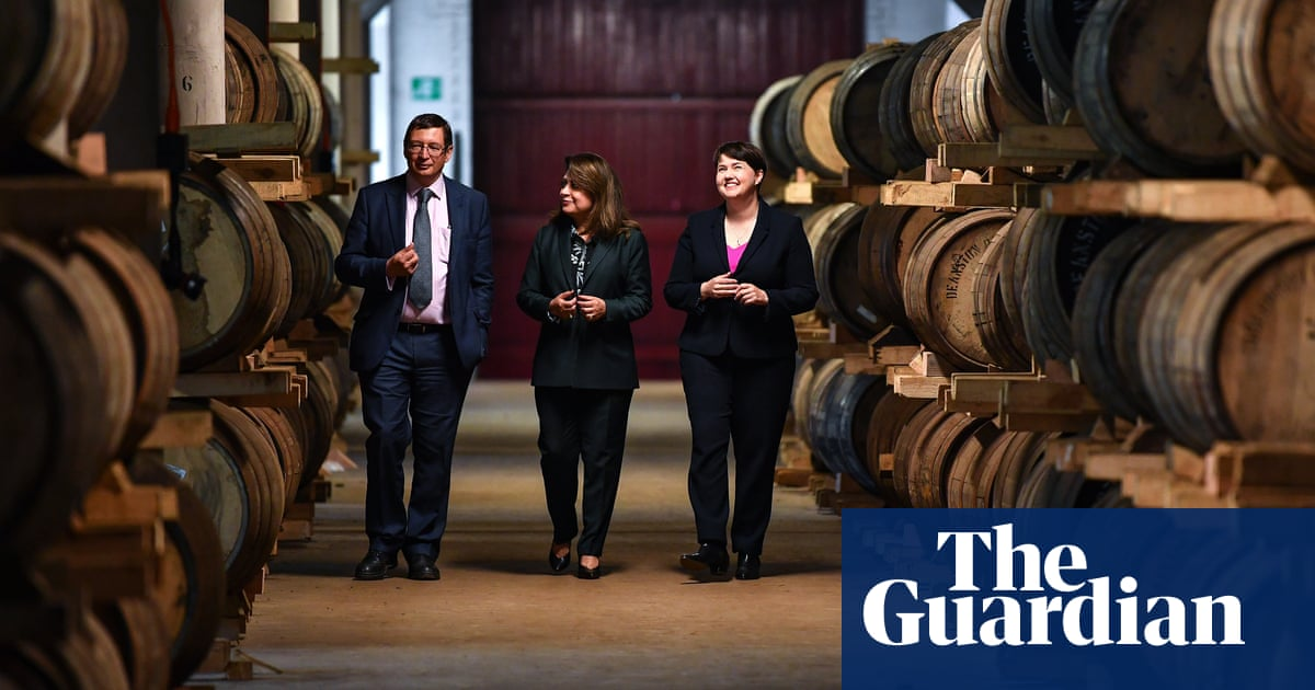 Scottish Tories fear Farage could stall their resurgence