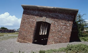The Giddy House, Port Royal, was tilted by an earthquake in 1907.