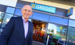 Roger Whiteside, CEO at Greggs, stopped eating meat and dairy three weeks ago.