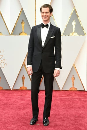 Nominee for Best Actor Hacksaw Ridge Andrew Garfield