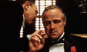 Advice ... Marlon Brando and Robert Duvall in The Godfather