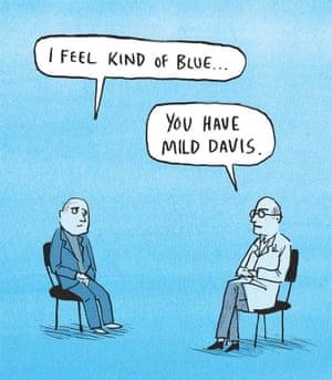 Berger & Wyse on Miles Davis – cartoon