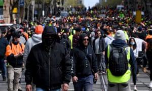 Protestors marched across Melbourne's CBD