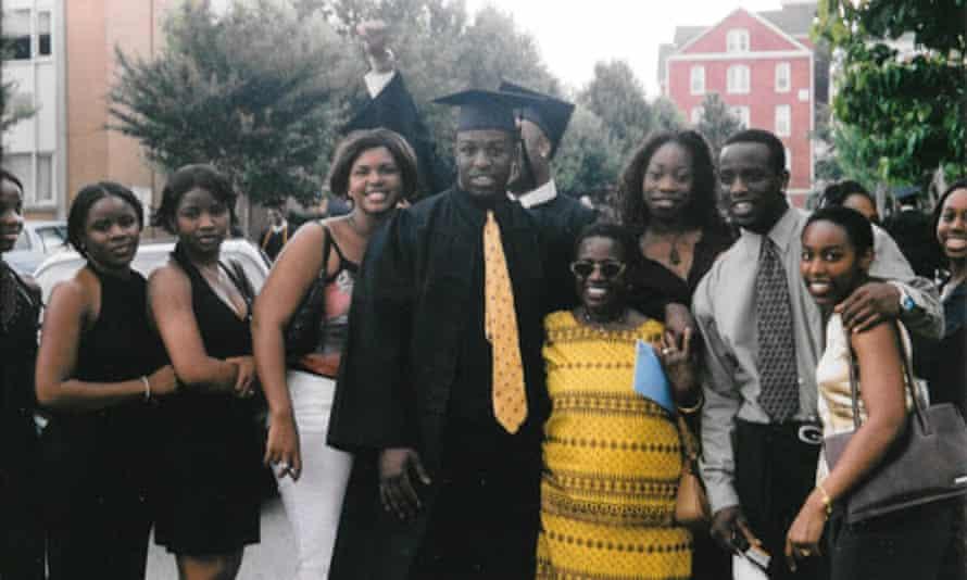 Chinedu Okobi at his Morehouse graduation.