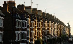 a row of terraced houses