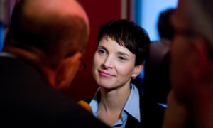AfD leader Frauke Petry.