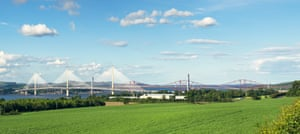 Queensferry Crossing, the Forth Road Bridge and the Forth Bridge