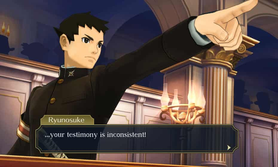 Strong point … Ace Attorney Chronicles.