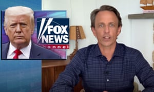Seth Meyers on Fox News' treatment of Trump: 'They'll let him get away with any lie no matter how outrageous.'
