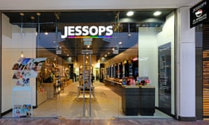 The Jessops store in Bristol, which can offer customers a range of photo print products.
