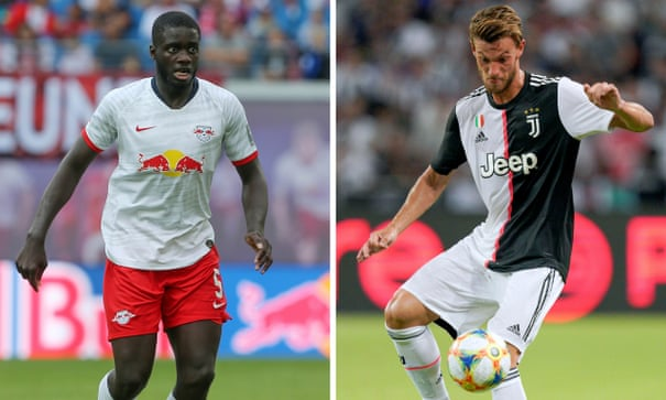 Arsenal make inquiries for Upamecano and Rugani in attempt to boost defence