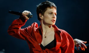 'Commands the stage with a focus and attention to detail reminiscent of Beyoncé's Homecoming' ... Christine and the Queens at All Points East.