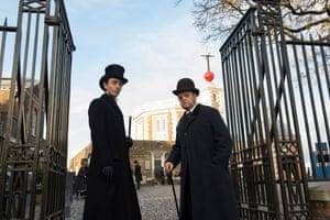 Vladimir (David Dawson) and Verloc (Toby Jones) in the BBC's adaptation of The Secret Agent.