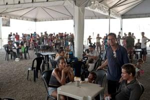 Venezuelan migrants Rondon 1 in Boa Vista