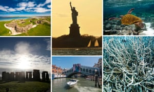 Neolithic Orkney, the Statue of Liberty, the Galapagos Islands, the Great Barrier Reef, Venice, Stonehenge