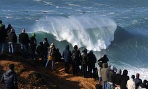 Nazaré big wave competition
