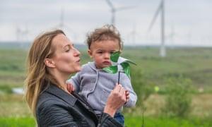 The Whitelee windfarm, on the outskirts of Glasgow