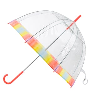 PVC dome umbrella, £22, totes.co.uk
