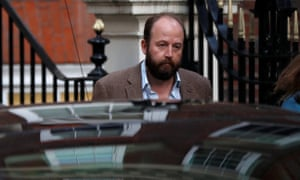 Nick Timothy photographed the day after the general election. Since then he has lost his beard, as well as his job as Theresa May's co chief of staff.