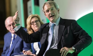 Owen Paterson at the Oxford Farming Conference in 2016.