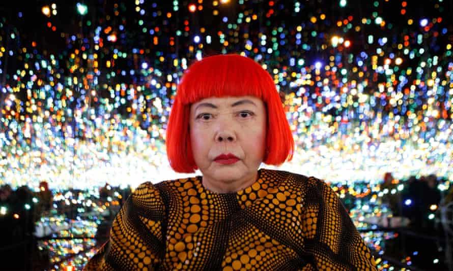 Inner experiences … Yayoi Kusama in 2013.