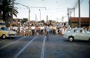 The last tram to run in Sydney