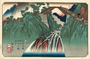 Nojiri Station, 1835/36 (Eisen, plate 41)