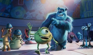 Monstrously good: James P Sullivan and his assistant Mike Wazowski in Monsters, Inc.