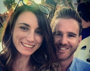 Australian bloggers Jolie King and Mark Firkin are reportedly being detained in Evin prison in Tehran after the couple were arrested while travelling through Iran, reportedly for flying a drone.