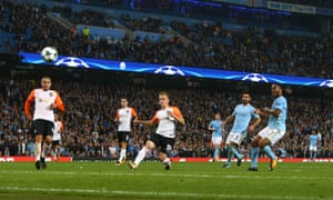 Raheem Sterling scores in injury time to seal victory for the home side.