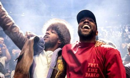 Kid Cudi and Kanye West