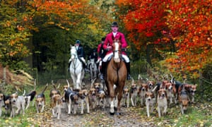 'Hunters argue that the National Trust's proposals will leave farmers at the mercy of saboteurs.'