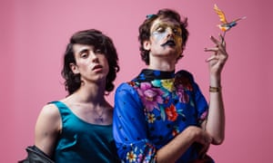PWR BTTM … Ben Hopkins (right) denies allegations of misconduct.