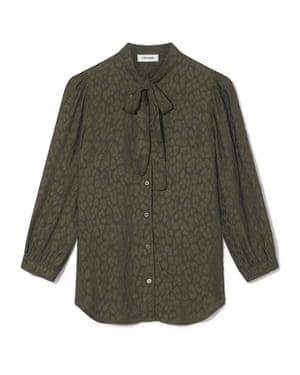 Khaki silk, £220, cefinn.com