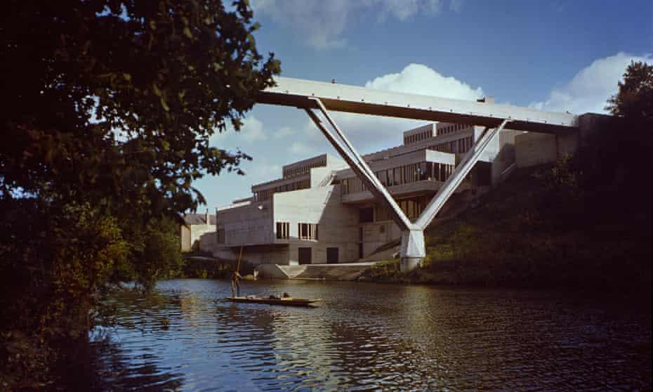 Dunelm House with Sir Ove Arup's Kingsgate Bridge.