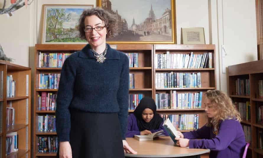 Kate Clanchy, pictured at Oxford Spires Academy, Oxford.