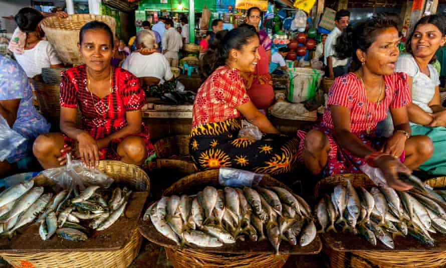 A fish market in Goa, where the state government is backing a drive for digital payment systems.