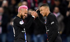 Neymar is coming back from injury at a good time for PSG.
