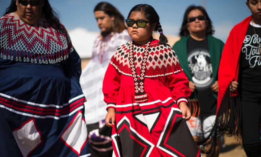 women and girls from the Colorado River tribes